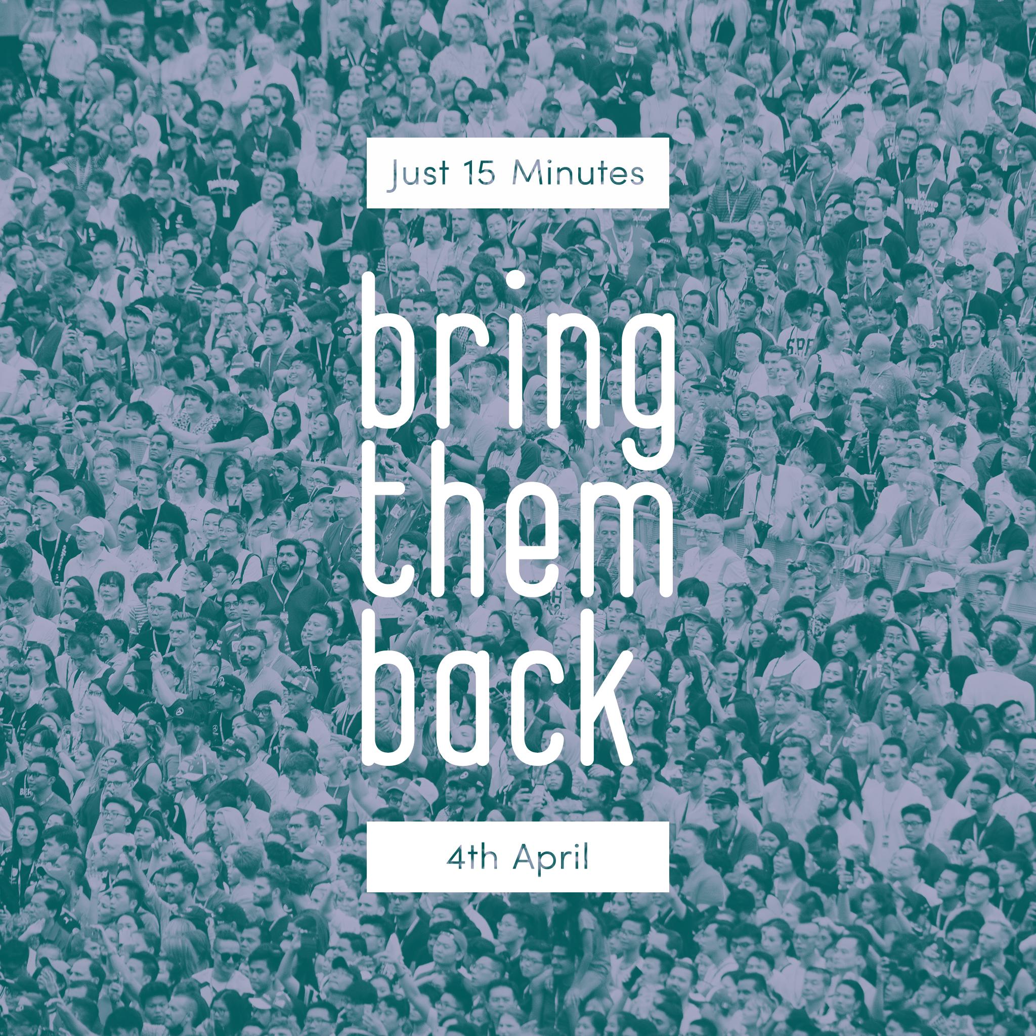 4th April - Just 15 Minutes